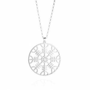 Collier femme | Grande rune de protection Viking